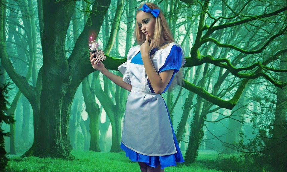 Costume d'Alice pour Halloween